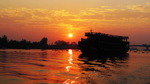 Sunrise on the Mekong by Cameron Taie