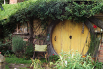 Hobbit Hole by Julie Sadino