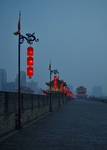 Xi'an City Wall by Brian Hoover