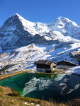 Kleine Scheidegg: In Reflection by Michaela Duffey