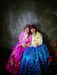 Princesses' Hanbok by Kelsi S. Watanabe