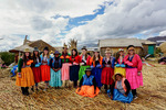 Women of the Uros by Morgan Schoenthal