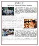 Cuisine: Chefs, Kitchen Volunteers & Northwest Ingredients