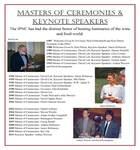 Masters of Ceremonies & Keynote Speakers