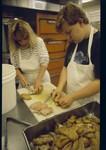 Kitchen Volunteers: Joan and Charles Drabkin by John Rizzo