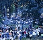 Guests Milling in Oak Grove 03