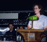 Panelist Sarah Kemp