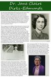 Poster Panel: Dr. Jane Claire Dirks-Edmunds
