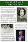 Poster Panel: Dr. Jane Claire Dirks-Edmunds by Samantha Noelle Hilton