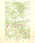 Gaston Quadrangle, Oregon
