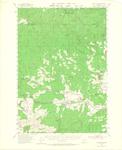 Grand Ronde Quadrangle, Oregon by David Adelsheim and David Lett