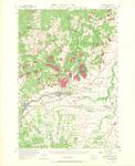 Sheridan Quadrangle, Oregon by David Adelsheim and David Lett