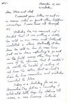 Letter #51 from Bob Jones to His Parents