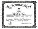 Mock Graduation Diploma by L. K. Akers