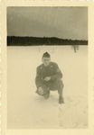 Bob Jones in the Snow by Unknown