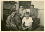 Bob Jones and Fellow Soldiers in Hohenpeißenberg