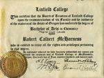 McHarness Undergraduate Diploma