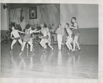 Linfield College Men's Basketball Game, 1948 by Unknown