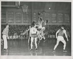 Linfield College Men's Basketball Team by Unknown