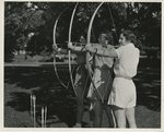 Women Practicing Archery, 1955
