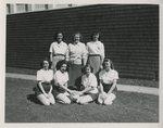 Independent Women's Intermural Volleyball Team by Unknown