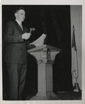 Associated Students of Linfield College (ASLC) President Norman Goss by Unknown