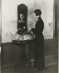 Woman in Front of Mirror 01 by Unknown