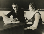 Professor Harold Elkinton and Margaret Patterson