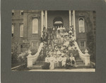 Group Photograph on the Steps of Pioneer Hall