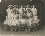 May Queen Ester C. Telcher and Maids