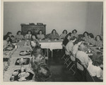 Kappa Alpha Phi Sisters Dining by Unknown