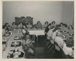 Kappa Alpha Phi Sisters Dining