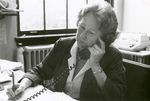 Ann Goss on the Phone by Unknown