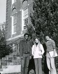Students outside of Melrose by Unknown
