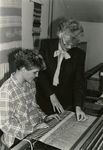 Edith Reynolds with a Student by Keith U.