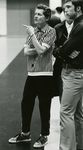Coach Barbara Olson and Student by Unknown
