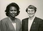 Anita Hill with President Vivian Bull
