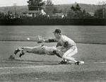 Scott Hilgenberg Stretches for the Ball by Unknown