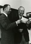 President Charles Walker and Dean John Housley by Unknown