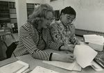 Barbara Jelinek with Student