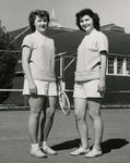Two Female Tennis Athletes