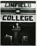 President Gerald Ford Speaks at Linfield