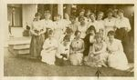 McMinnville College Kappa Alpha Phi Sorority Group Photo