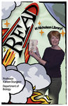 Kareen Sturgeon READ Poster by Paula Terry and Nicholson Library Staff