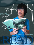Matt Chan READ Poster by Paula Terry and Nicholson Library Staff