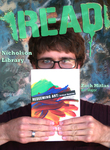 Zach Mitlas READ Poster by Paula Terry and Nicholson Library Staff