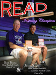 Scott Brosius and Jackson Vaughan READ Poster by Paula Terry and Nicholson Library Staff