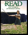 Rachael Woody READ Poster by Paula Terry and Nicholson Library Staff