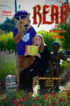 Stephanie Wyatt and Mack the Wildcat READ Poster by Paula Terry and Nicholson Library Staff