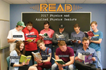 Linfield College Physics Students READ Poster by Ryan O'Dowd and Nicholson Library Staff